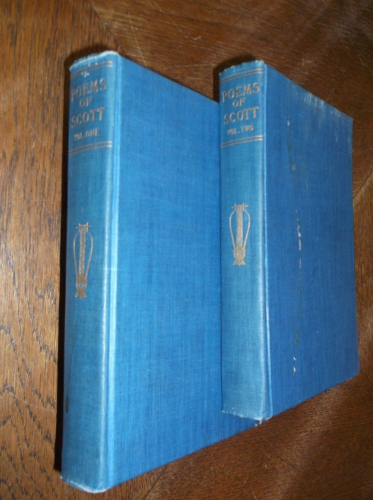 Poems of Sir Walter Scott (Two Volumes) A Library of Poetical Literature in Thirty-Two Volumes. Sir Walter Scott.
