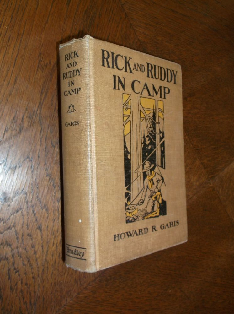 Rick and Ruddy in Camp: The Adventures of a Boy and His Dog. Howard Garis.