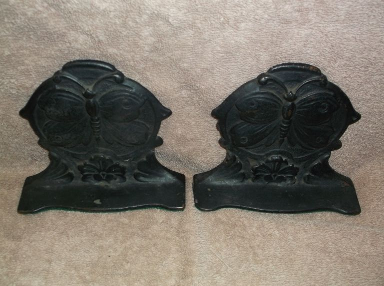 Butterfly *Bookends*. Miscellaneous.