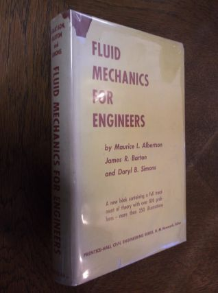 Fluid Mechanics For Engineers. Maurice Albertson