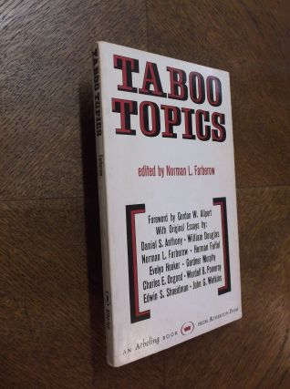 Taboo Topics. Norman L. Farberow