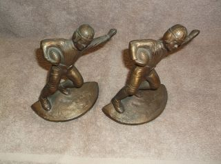 "Football Player ""Bookends"" Hubley"