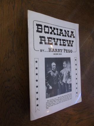 Boxiana Preview: Second Issue. Harry Pegg