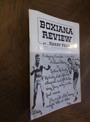 Boxiana Preview: Eleventh Issue. Harry Pegg